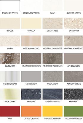 corian dupont colors